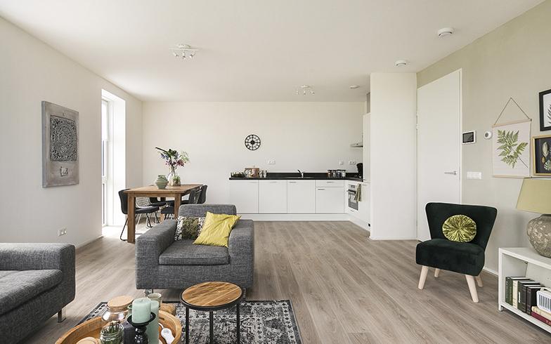「アン・デ・ライン」は、85平米/100平米の広さ、2LDKまたは3LDKの2種類の部屋がある。家賃は月に950ユーロ(12万円)前後(写真提供/Vesteda)