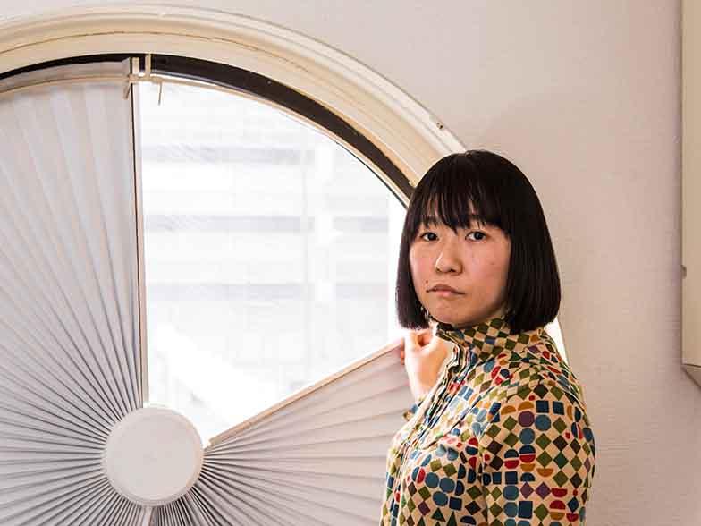 「中銀カプセルタワービルA606プロジェクト」代表のいしまるあきこさん(写真:蔵プロダクション)