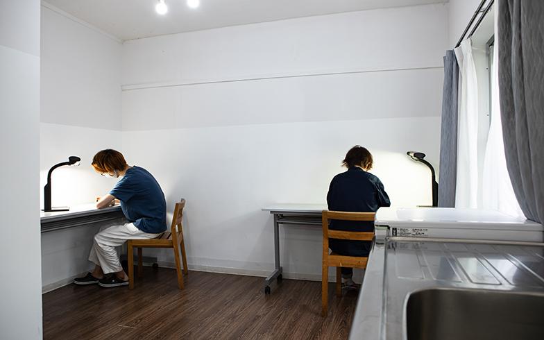一人暮らしの部屋では、なかなかこうはいかない(写真撮影/片山貴博)