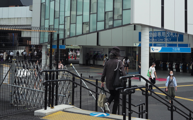 現在の下北沢駅(写真撮影/相馬ミナ)
