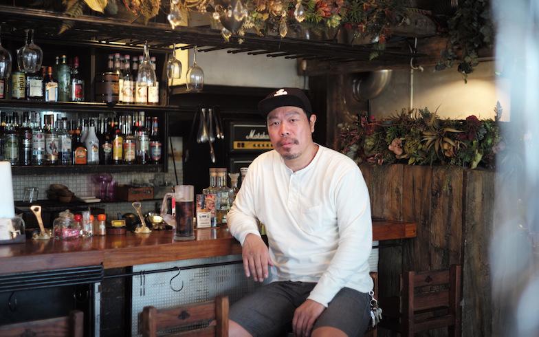 ここを含めて下北沢に5軒の飲食店を展開(写真撮影/相馬ミナ)