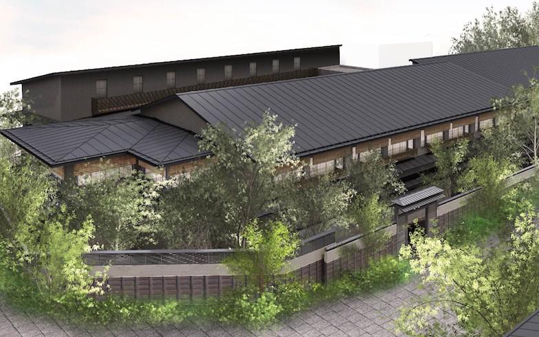 岩田さんが今気になっているのは、下北線路街の施設の一つとして2020年9月に開業した温泉旅館「由縁別邸 代田」。35室の客室、露天風呂付き大浴場、割烹、茶寮などを備えている(写真提供/小田急電鉄)