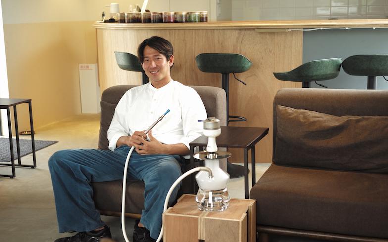 26歳の若きオーナー、小澤彩聖さん(写真撮影/相馬ミナ)