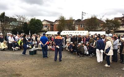 「街に居場所を!」リタイヤ世代が立ち上がった。ベッドタウン「東千葉住宅地」で参加500名の大防災訓練を実現した共助力とは