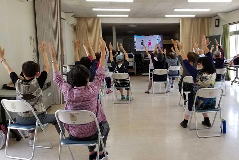 健康や在宅介護などの講座やイベントは、「今、自分たちが興味・関心のあること」をテーマにしているそう(写真提供:東千葉地区自治会連絡協議会)