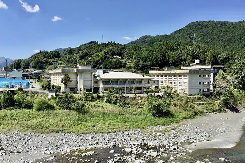 大埜地の集合住宅がある場所にあったかつての青雲寮(写真提供/神山町)