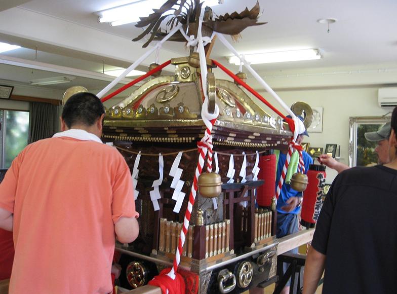 もともとお祭りが盛んな大磯。防災の取り組みの、根っこにあるのは「地元愛」(写真提供/伊藤勇さん)
